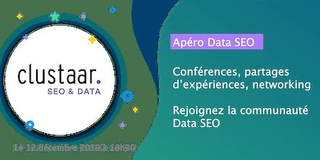 Apéro Data SEO : Conférences, partages d'expériences, networking... billets