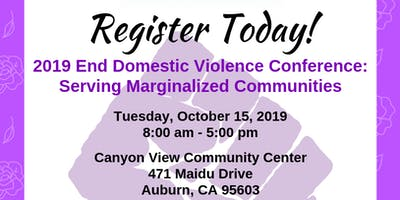 2019 End Domestic Violence Conference: Serving Marginalized Communities