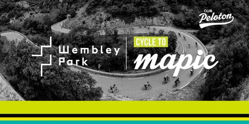 Wembley Park Cycle to MAPIC 2019 - Rider Briefing