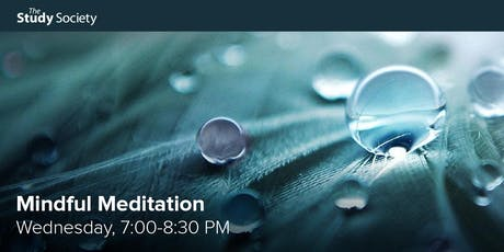 Mindful Meditation with Patti Good - The Study Society tickets