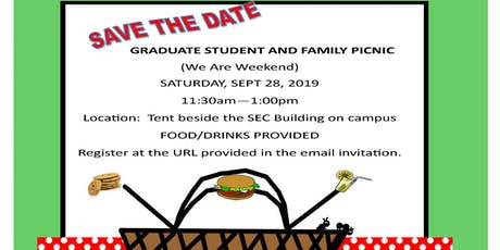 Graduate Student and Family Picnic tickets