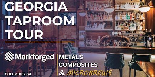GEORGIA TAPROOM TOUR: Microbrews & Markforged 3D Printing