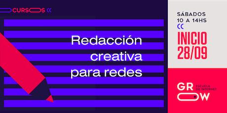 Redacción Creativa para Redes entradas