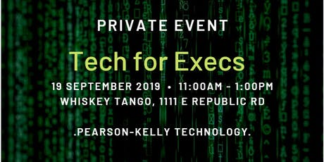 Tech for Execs tickets