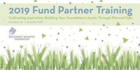 Fund Partner Training tickets