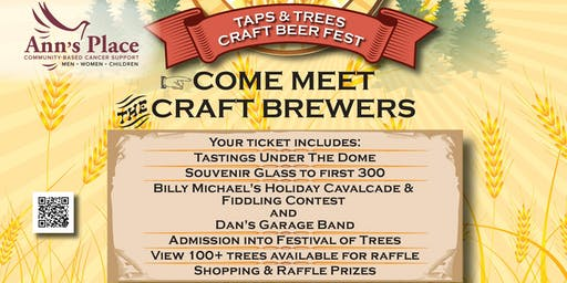 2019 Festival of Trees Taps & Trees Craft Beer Fest Benefitting Ann's Place
