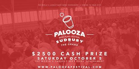 SUDBURY - PALOOZA BEER PONG FESTIVAL 2019 tickets