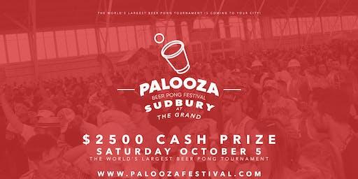 SUDBURY - PALOOZA BEER PONG FESTIVAL 2019