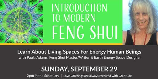 Introduction to Modern Feng Shui