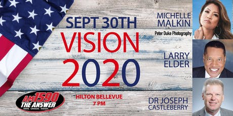 Vision 2020 An Evening with Larry Elder and Michelle Malkin tickets