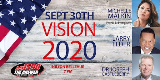Vision 2020 An Evening with Larry Elder and Michelle Malkin