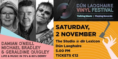 Music & Life in 70's & 80's Derry tickets