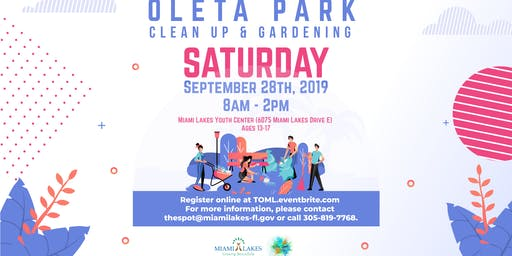 Youth Community Service Project: Oleta State Park Beautification