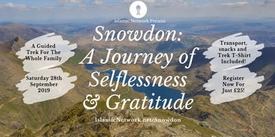 Snowdon 2019 - A Journey of Selflessness and Gratitude