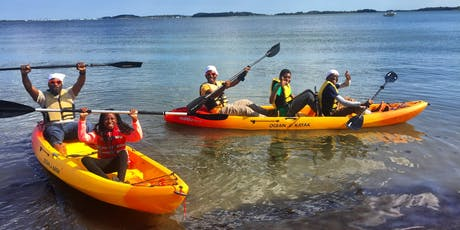 Kayaking Day/Un Dia de Kayak: Explore Boston's Waterfront by Water and Land tickets