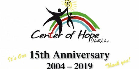 Center of Hope (Haiti)'s 15th Anniversary Gala at The Tent at Bryant Park Grill tickets