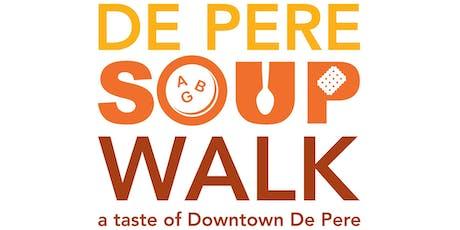 De Pere Soup Walk tickets