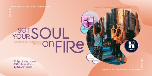 Set Your Soul on Fire: Sunset Rooftop Yoga