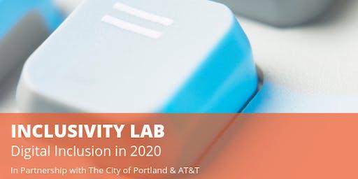 Inclusivity Lab: Digital Inclusion in 2020