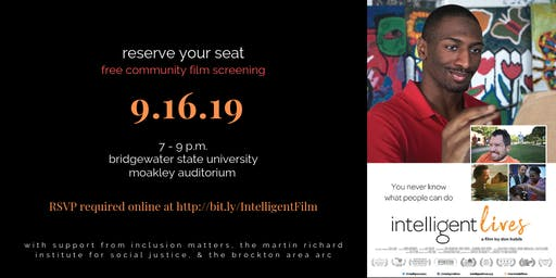 "Free Community Screening of ""Intelligent Lives"""