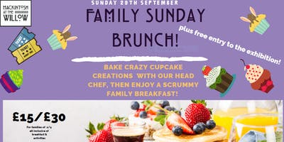 Crazy Cupcake Creations & Family Brunch!