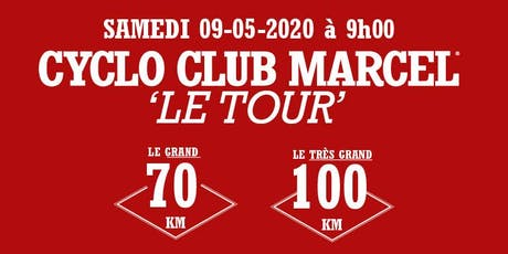 Cyclo Club Marcel Tour 2020 tickets