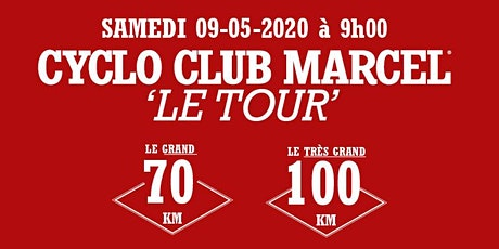 Cyclo Club Marcel Tour 2020 tickets