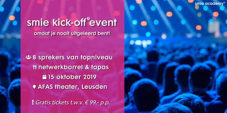 Smie Kick-off event tickets