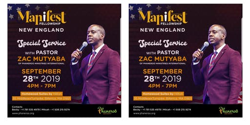 Special Service With Pastor Zac Mutyaba of Phaneroo Ministries International