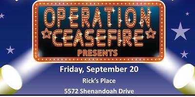 Volunteer sign-up - Operation Ceasefire - 20 September 2019