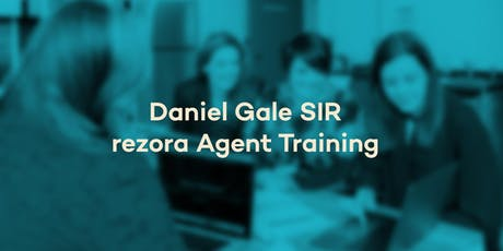 Daniel Gale SIR - rezora Agent Training tickets