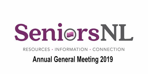 SeniorsNL Annual General Meeting