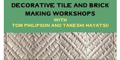 Decorative Tile and Brick Making Workshop tickets