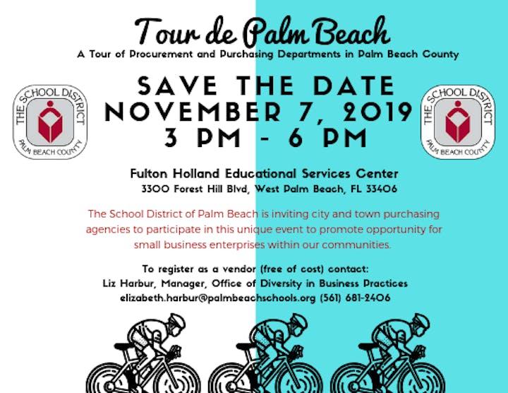 Tour de Palm Beach: A Tour of Procurement and Purchasing