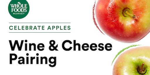 Celebrate Apples: Wine & Cheese Pairing