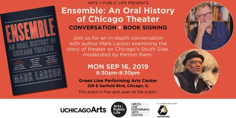 Ensemble: An Oral History of Chicago Theater - Conversation + Book Signing tickets