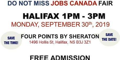 Free: Halifax Job Fair – September 30th, 2019 tickets