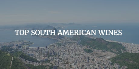 South American Wines tickets