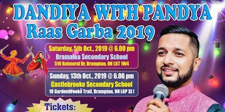 DANDIYA WITH PANDYA (Raas Garba 2019) tickets