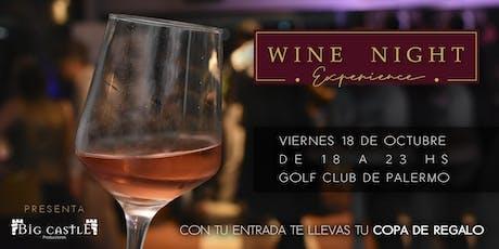 Wine Night Experience entradas
