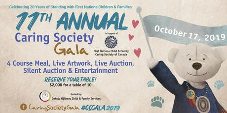 First Nations Caring Society 11th Annual Gala tickets