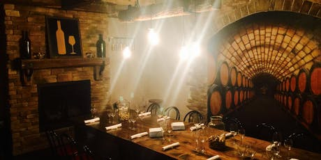 Cave Tasting-Food & Wine Pairing tickets