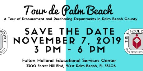 Tour de Palm Beach: A Tour of Procurement and Purchasing Departments in PBC tickets