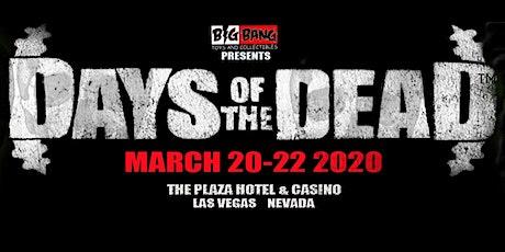 Days Of The Dead Las Vegas 2020 - Vendor Registration tickets