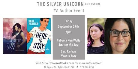 YA Author Event: Rebecca Kim Wells in Conversation with Sara Farizan tickets