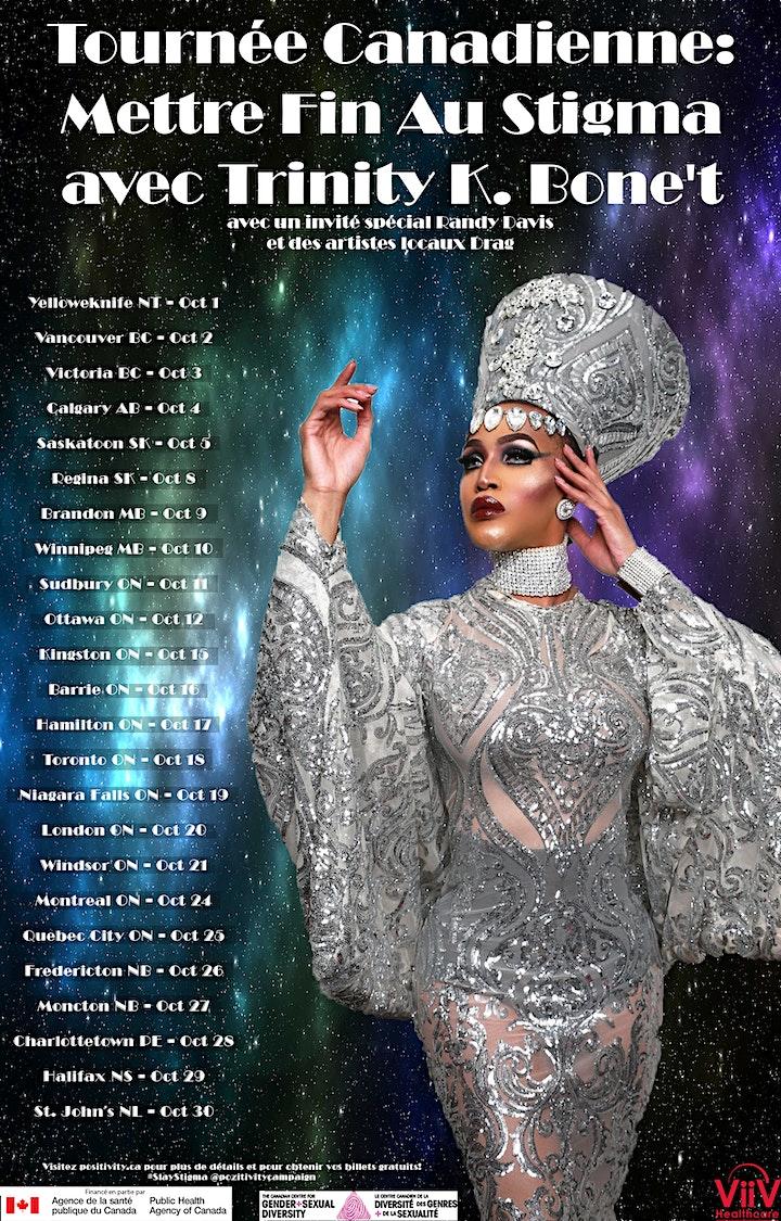 POZitivity: Slay Stigma Canadian Drag Tour w/ TRINITY K BONET image