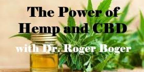Lunch and Learn! The Power of Hemp and CBD with Dr. Roger Boger tickets
