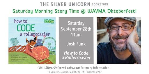 Josh Funk Book Launch Party at West Acton Oktoberfest