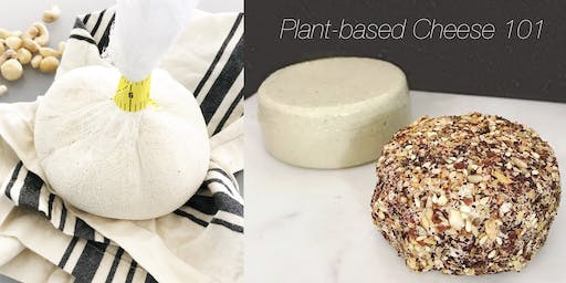Plant-based Cheese 101 - Learn to make dairy-free, vegan cheeses & sauces