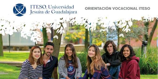 Encuentro de orientadores vocacionales ITESO otoño 2019